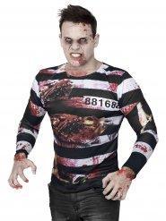 T-shirt de Zombie prisioneiro Halloween