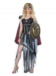 Disfarce gladiadora sexy com franjas mulher