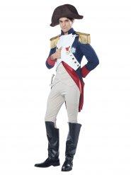 Disfarce imperador francês Napoleão homem