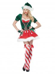 Disfarce elfo de Natal sexy mulher