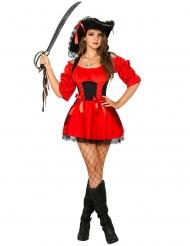 Disfarce pirata sexy - mulher