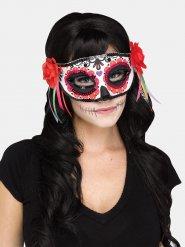 Máscara veneziana colorida