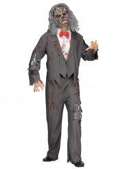 Disfarce garçom zombie homem Halloween
