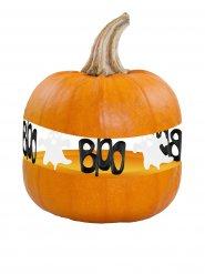 8 Decorações fantasmas para abóboras Halloween