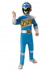Disfarce Power Rangers™ Deluxe azul criança