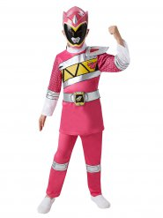 Disfarce Power Rangers™ cor-de-rosa criança