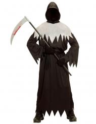 Disfarce senhor da morte terrível menino Halloween