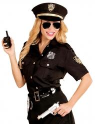 Disfarce polícia preto mulher