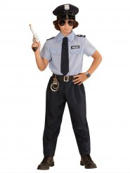 Disfarce polícia para criança