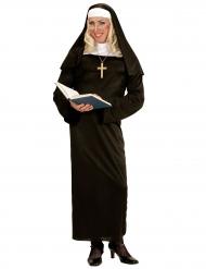 Disfarce humorístico freira adulto