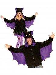 Poncho morcego adulto Halloween