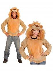 Casaco com capuz leão