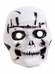 Meia-máscara caveira criança