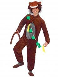 Disfarce macaco engraçado adulto