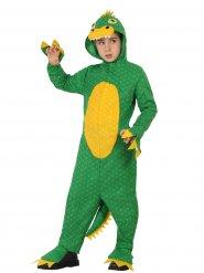 Disfarce Dinossauro criança verde