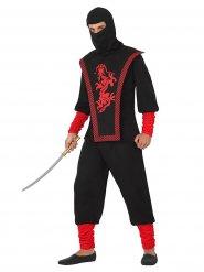 Disfarce de guerreiro ninja homem