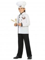 Disfarce cozinheiro criança