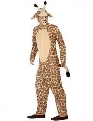Disfarce girafa adulto