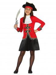 Disfarce pirata bucaneira menina