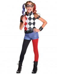 Disfarce luxo Harley Quinn™ menina - Superhero Girls™