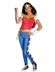 Disfarce luxo Wonder Woman™ menina - Super Hero Girls™