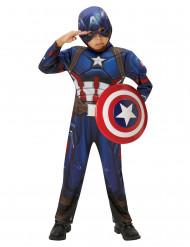 Disfarce Marvel Civil War Captain America™ criança
