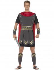 Disfarce gladiador romano antigo homem