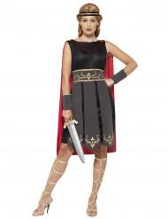 Disfarce guerreira gladiadora mulher