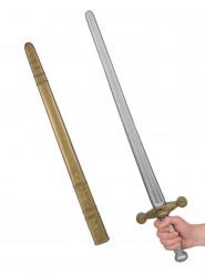 Espada de cavaleiro medieval adulto