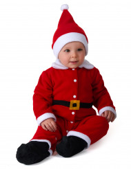 Disfarce Pai Natal lindo para bebé