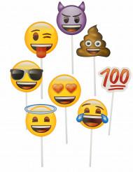 Kit Photobooth 8 acessórios Emoji™