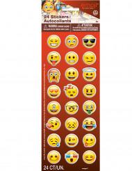 24 Adesivos emoticons Emoji™