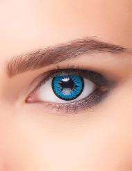 lentes fantasia estrela azul adulto