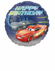 Balão alumínio Cars 3™ Happy Birthday