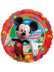 Balão alumínio Happy Birthday Mickey™ 43 cm