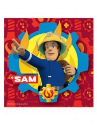 20 Guardanapos de papel Bombeiro Sam™