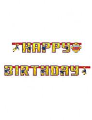 Grinalda Happy Birthday Bombeiro Sam™ 180 cm