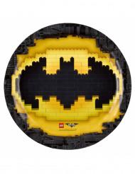 8 Pratos de cartão Lego Batman™