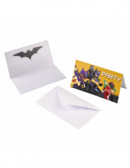 8 Convites e envelopes Lego Batman™