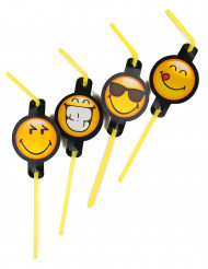 8 Palhinhas Smiley Emoticons™