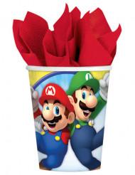 8 Copos de cartão Super Mario™