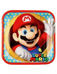 8 Pratos de cartão Super Mario™