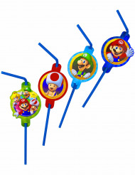 8 Palhinhas de plástico Super Mario™