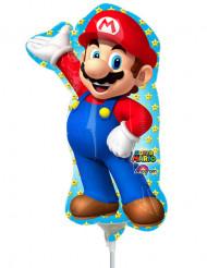 Balão alumínio cheio Super Mario™ 20 x 30 cm