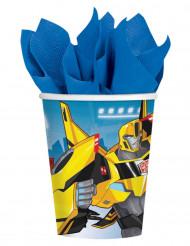 8 Copos de cartão Transformers Robots in Disguise™