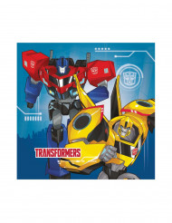 20 Guardanapos de papel Transformers Robots In Disguise™