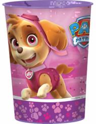 Copo de plástico cor-de-rosa Patrulha Pata™