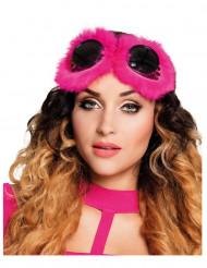 Óculos fantasia cor-de-rosa mulher Steampunk