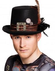 Chapéu alto adulto Steampunk