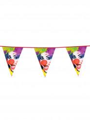 Grinalda bandeiras palhaço festa 6 m